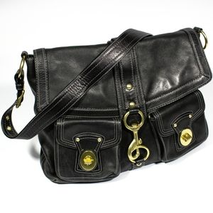Coach Brooklyn Bag Black XL Rare F14043